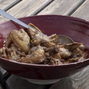 Guinea Fowl with Walnuts and Grape Juice recipe